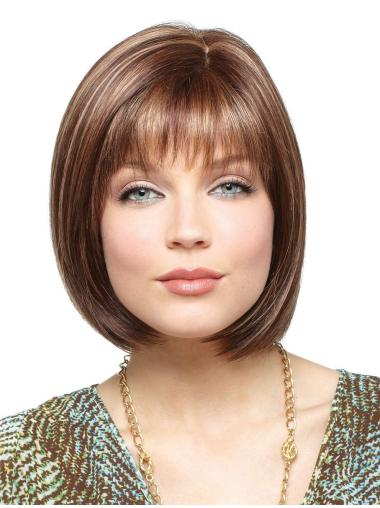 Suitable Lace Front Synthetic Short Wigs