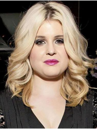 """Shoulder Length Full Lace Synthetic 14"""" Without Bangs New Kelly Osbourne Wigs"""