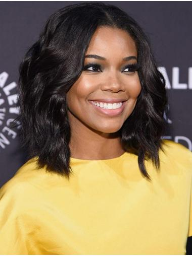 """Shoulder Length Full Lace Synthetic 14"""" Bobs High Quality Gabrielle Union Wigs"""