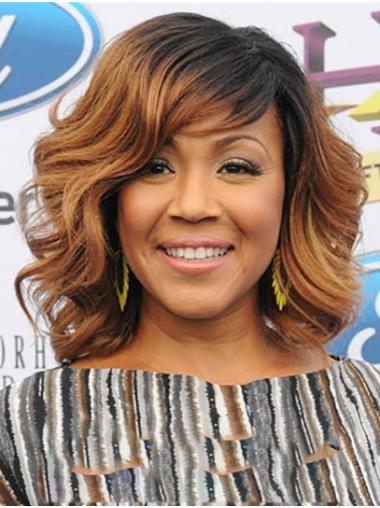 """Shoulder Length Capless Synthetic 14"""" Bobs Popular Erica Campbell Wigs"""