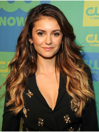 """Long Lace Front Synthetic 22"""" Without Bangs High Quality Nina Dobrev Wigs"""
