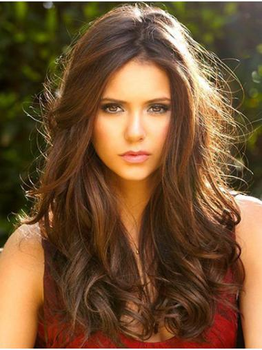 """Long Lace Front Synthetic 20"""" Without Bangs Online Nina Dobrev Wigs"""