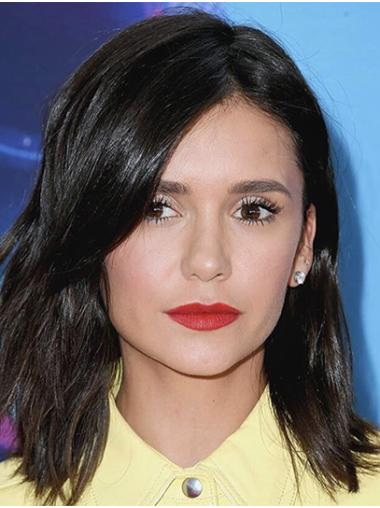 """Shoulder Length Lace Front Synthetic 14"""" Bobs New Nina Dobrev Wigs"""