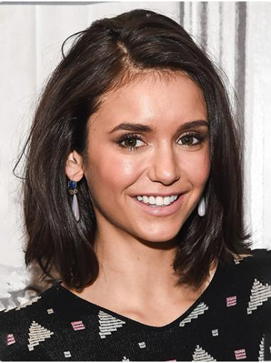"""Shoulder Length Lace Front Synthetic 14"""" Bobs Trendy Nina Dobrev Wigs"""