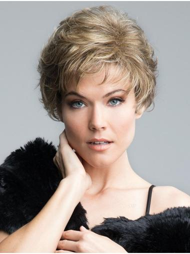 """Curly Blonde Short 8"""" Gorgeous Classic Wigs"""