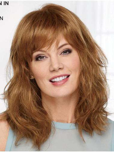 """Auburn 14"""" With Bangs High Quality Capless Synthetic Wigs"""