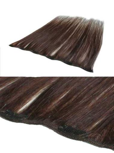 Amazing Auburn Straight Clip in Hair Extensions