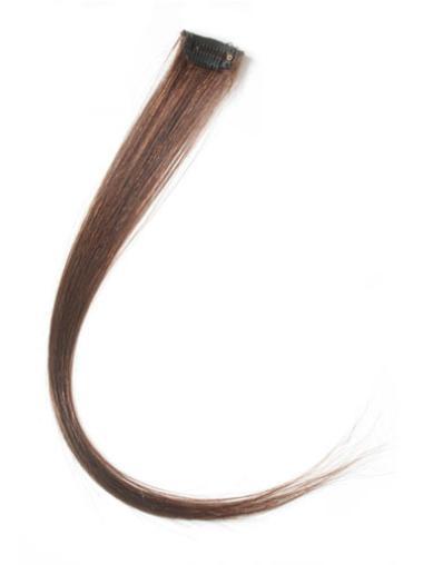 Flexibility Auburn Straight Clip in Hair Extensions