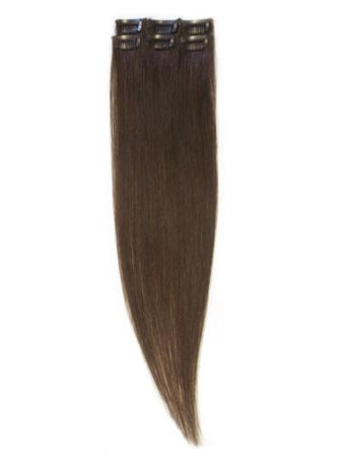 Best Brown Straight Clip in Hair Extensions