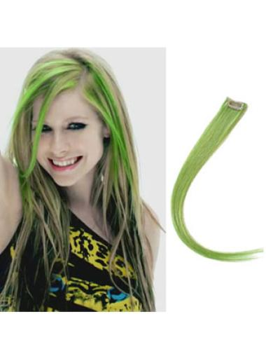 Style Black Straight Clip on Hair Extensions