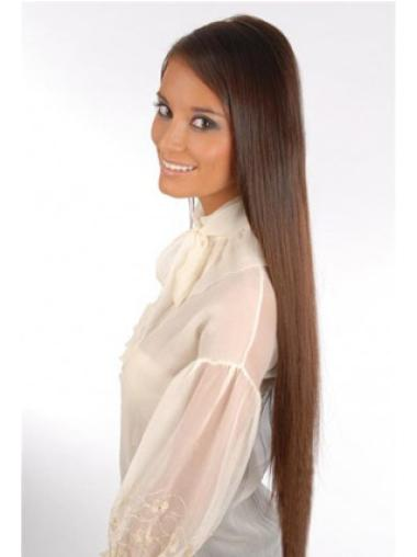 Trendy Auburn Straight Clip on Hair Extensions