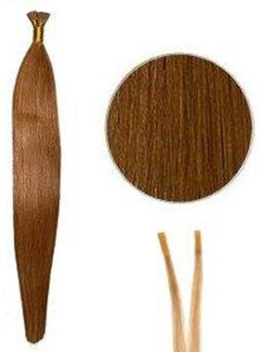 Good Auburn Straight Stick Tip Hair Extensions