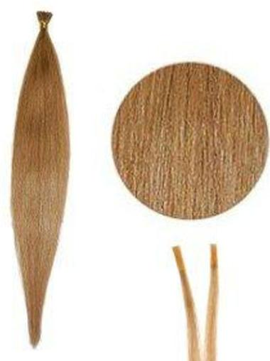 Graceful Blonde Straight I Tip Hair Extensions