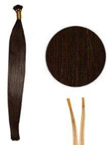 Incredible Auburn Straight I Tip Hair Extensions