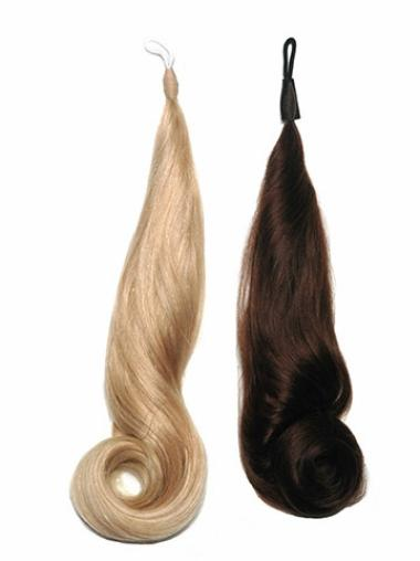 Classic Brown Curly Stick Tip Hair Extensions
