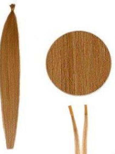 Natural Auburn Straight I Tip Hair Extensions