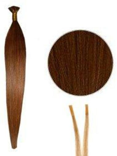 Perfect Auburn Straight I Tip Hair Extensions