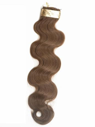 New Brown Wavy Weft Extensions