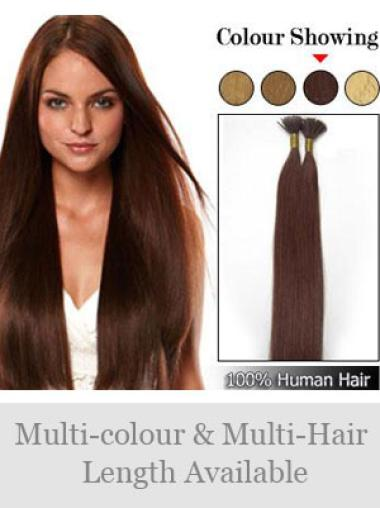 Fashion Auburn Straight Stick Tip Hair Extensions