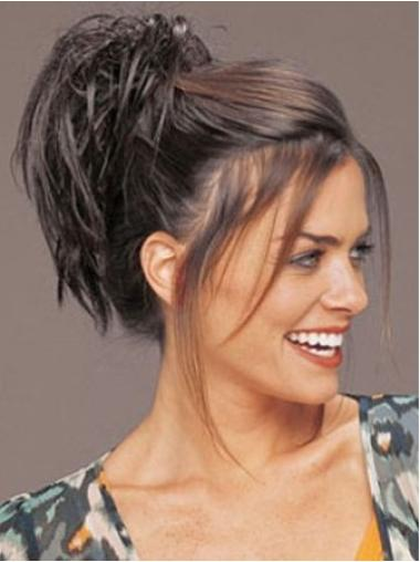 Beautiful Brown Straight Clip in Hairpieces