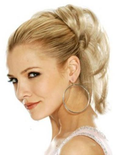 Good Blonde Straight Clip in Hairpieces