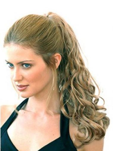 Gorgeous Long Blonde Curly Clip in Hairpieces