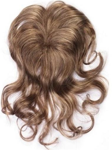 Hairstyles Brown Wavy Clip in Hairpieces