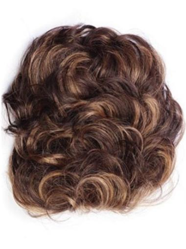 High Quality Short Auburn Curly Clip in Hairpieces
