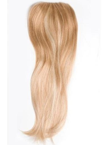 Incredible Long Blonde Straight Clip in Hairpieces