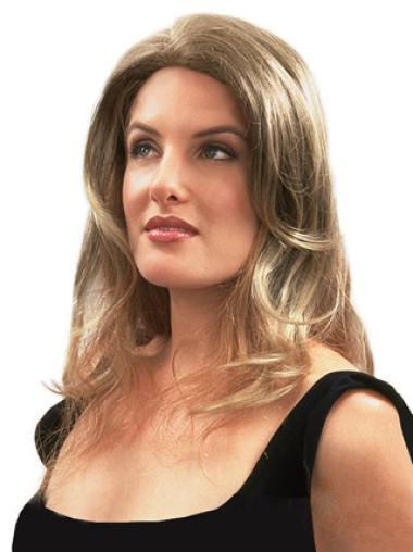 Cheapest Blonde Wavy Clip in Hairpieces