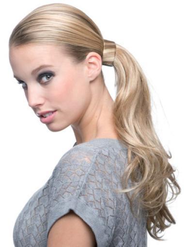 Best Long Blonde Wavy Ponytails