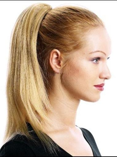 High Quality Blonde Straight Ponytails