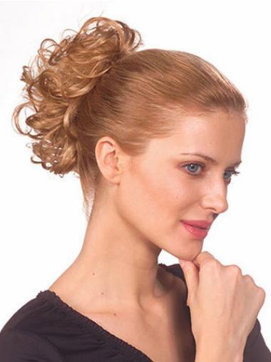 Wonderful Short Blonde Wavy Ponytails