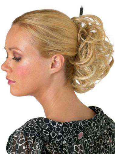 Convenient Blonde Wraps / Buns