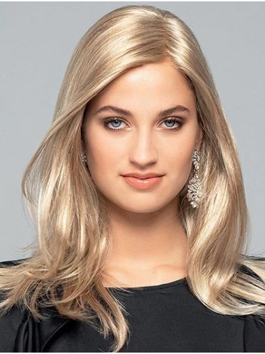 """16"""" Long Wavy Monofilament Blonde Layered Synthetic Hair Wigs"""