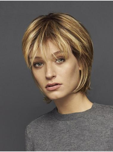 "Straight Ombre/2 Tone Synthetic Chin Length 10"" High Quality Bob Wigs"