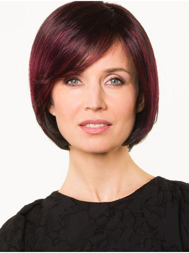 "Bobs Red Chin Length 10"" Straight Bob Hairstyles"