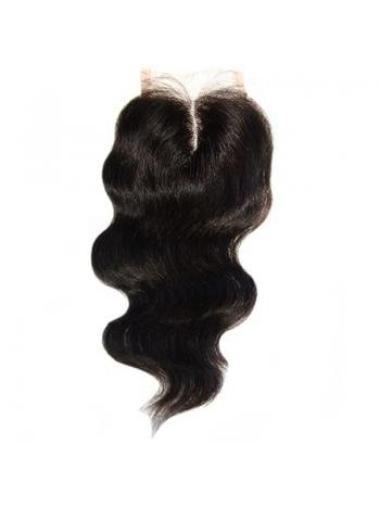 Lace Closure, 4 X 5, Body Wave Middle Parting