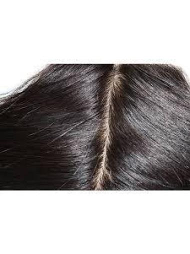 Silk Base Lace Closure, 4 X 5 Straight, Middle Parting