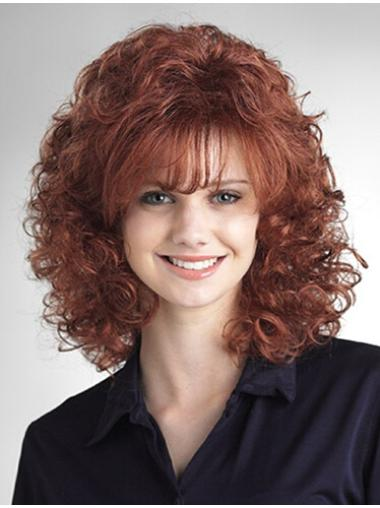 16 Inch Curly Discount Wigs