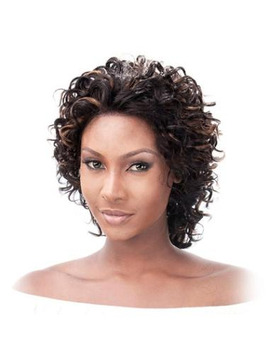 Lace Front Indian Remy Hair Wigs for Black Women
