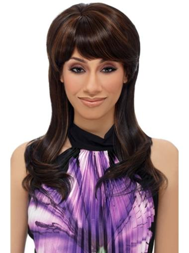 Good Brown Straight Synthetic Wigs for Black Women