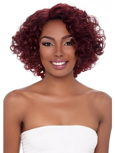 Beautiful Red Curly Wigs for Black Women