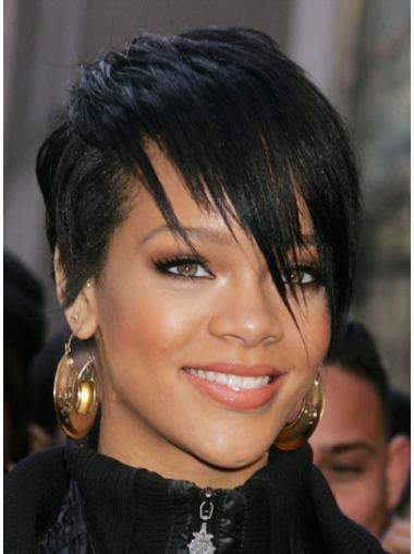 Rihanna Short Hair Wigs