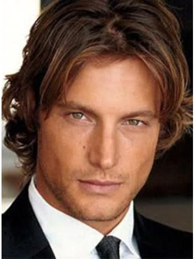 Lace Front Remy Human Hair Men Wigs