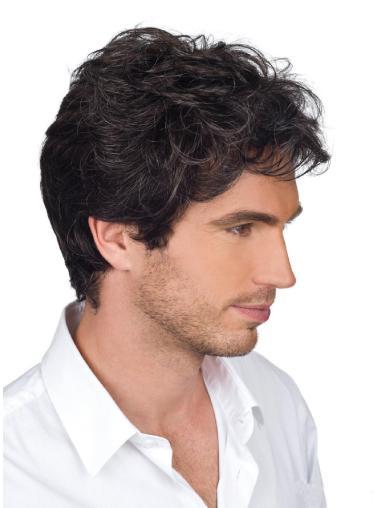 Monofilament Men Wigs