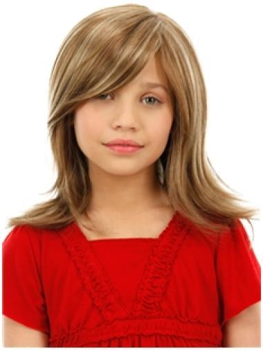 Shoulder Length Kids Wigs