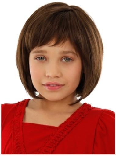100% Hand-tied Remy Human Hair Kids Wigs