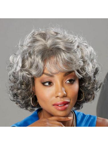 Beautiful Curly Synthetic Wigs for Black Women