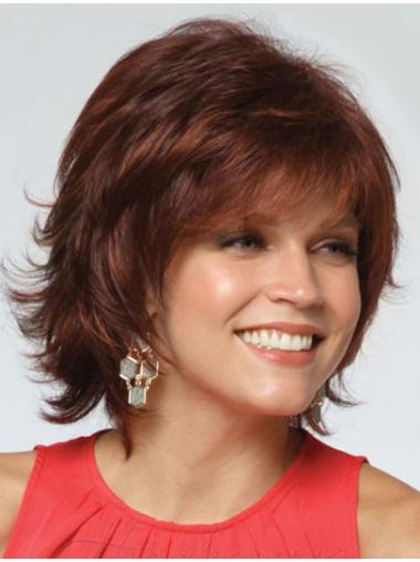 """Layered 11"""" Capless Synthetic Wigs"""